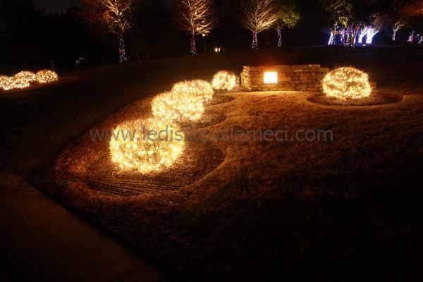 Bahçe Işık Süsleme