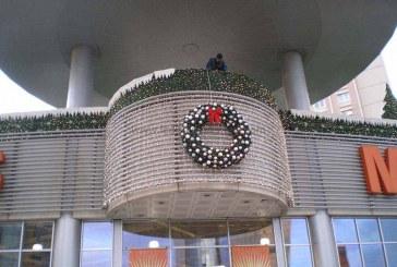 Bina Yılbaşı Işık Süsleme