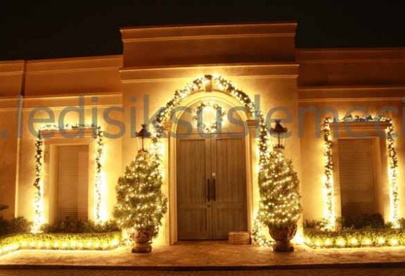 Villa Yılbaşı Işık Süsleme